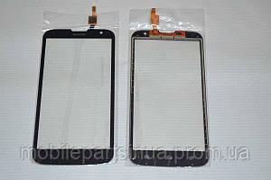 Оригинальный тачскрин / сенсор (сенсорное стекло) для Huawei Ascend G730 (черный цвет, чип Synaptics) + СКОТЧ