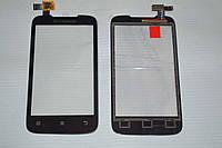 Оригинальный тачскрин / сенсор (сенсорное стекло) для Lenovo A369 | A369i (черный цвет) + СКОТЧ В ПОДАРОК