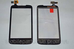 Оригинальный тачскрин / сенсор (сенсорное стекло) для Lenovo A369   A369i (черный цвет)