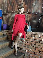 Красное дизайнерское платье