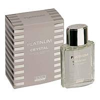 Чоловіча туалетна вода platinum crystal 100 ml