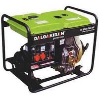 Дизельная электростанция (генератор) DJ 7000 DG-E, мощность 7 кВа, электростартер, кожух