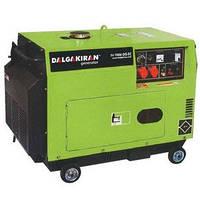 Дизельная электростанция DJ 7000 DG-ECS, мощность 7 кВт