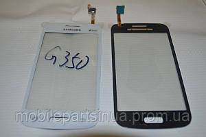 Тачскрин / сенсор (сенсорное стекло) для Samsung Galaxy Star Advance G350E | G3500 (белый цвет, самоклейка)