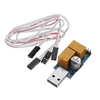 USB 5V Watchdog Card/Компьютер/Автоматический перезапуск Синий экран Crash/Mining/Game/Server/LTC BTC Miner 365X24 Hours Boot Double Relay/Single