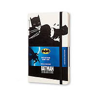 Блокнот Moleskine Limited Batman (Бэтмен) Средний 240 страниц Белый в Линейку (13х21 см) (8052204400935), фото 1