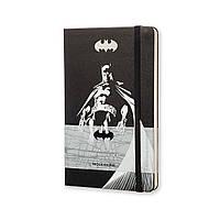 Блокнот Moleskine Limited Batman (Бэтмен) Средний 240 страниц Черный Нелинованный (13х21 см) (8052204400942), фото 1