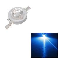 Синий 1w большая мощность 140 ° LED диодная лампочка лампы света бусинки чипа сделай сам