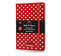 Блокнот Moleskine Limited Minni Mouse Средний 240 страниц Красный Нелинованный (13х21 см), фото 1