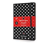 Блокнот Moleskine Limited Minni Mouse Средний 240 страниц Черный в Линейку (13х21 см), фото 1