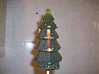 Новогодний леденец ЁЛКА 20 см в подарок на рождество