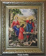 """Набор для вышивания бисером №10411 """"Святое семейство"""""""