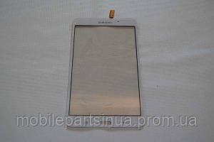 Оригинальный тачскрин / сенсор (сенсорное стекло) для Samsung Galaxy Tab 4 7.0 T230 (белый цвет, самоклейка)