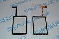 Оригинальный тачскрин / сенсор (сенсорное стекло) для HTC Wildfire S A510e REV 3 (черный цвет) + СКОТЧ