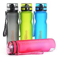 BIKIGHTПортативнаяпластиковаянепромокаемаяспортивнаябутылка для воды с питьевой водой На открытом воздухе Велоспорт