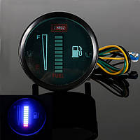 Автомобиля мотоцикла алюминиевый сплав LED измеритель уровня топлива датчик