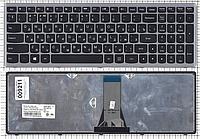 Клавиатура для ноутбука Lenovo IdeaPad Flex15 G500S G505S S500 S510 S510P Z510 (русская раскладка, серый цвет)