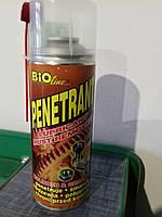 Средство для удаления ржавчины BIOline Penetrant 400мл.