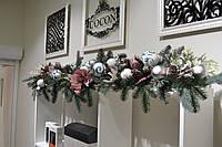 Новогоднее оформление  офисных помещений и частных интерьеров