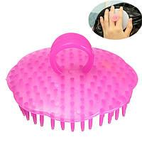 Мягкий волос щетки мытья головы головы массажер ванна для здорового отдыха гребенка