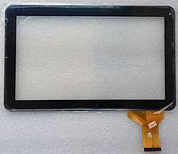 Оригинальный тачскрин / сенсор (сенсорное стекло) для FM101301KA (черный цвет, самоклейка)