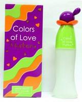 Женская туалетная вода colors of love mystery 65 ml