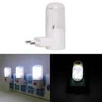 0.5W LED Настенный светильник для ночного светильника Энергосбережение для дома Bedside AC220V