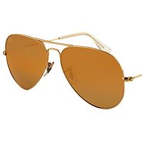 Очки Ray Ban 3025 3026 Aviator Brawn комплект, стекло солнцезащитные копия