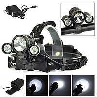 1 Xмл T6 2xp LED на велосипеде фары велосипед аккумуляторная фар