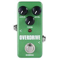 KOKKO FOD3 Overdrive True Обходной гитарный эффект Педаль Full Metal Shell