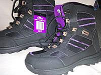 Женские, подростковые ботинки на мембране, термоботинки размер 36