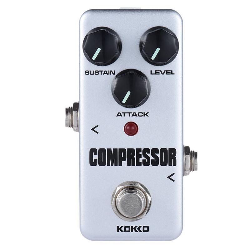 KOKKO FCP-2 Компрессор Портативная гитара эффектов для гитары - ➊TopShop ➠ Товары из Китая с бесплатной доставкой в Украину! в Днепре