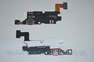 Шлейф (Flat cable) с коннектором зарядки, микрофона для Samsung Galaxy Note N7000 | I9220 | I9228 | I889