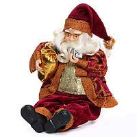 РождественскаявечеринкаДомашнееукрашение35CMСидящие украшения для украшения Санта-Клауса для детей Детский подарок