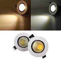 5w затемняемый початок LED встраиваемый потолочный светильник вниз свет 220v