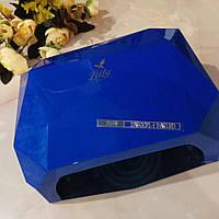 Уф/лед Лампа для ногтей, 36W, 10,30,60сек, сенсор, синяя