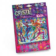 Набор мозаика из кристаллов crystal mosaic kids
