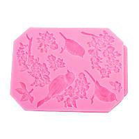 Пищевой Сорт Силиконовый Торт Mold DIY Chocalate Cookies Ice Tray Baking Инструмент Bird Shape