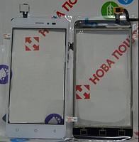 Сенсор (Touch screen) Bravis B501 Easy белый