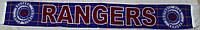 Шарф фанатский вязанный с символикой FC Rangers (Glasgow)