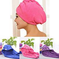 4 цвета волос сушки полотенец двойная сторона ватки сухие волосы шляпа