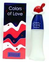 Женская туалетная вода colors of love passion 65 ml