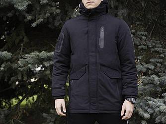 Мужская зимняя парка Glo-Story (Гло) черная