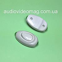 Выключатель ABS для бра клавишный, цвет белый