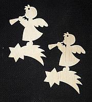 Новогодние декоративные подвески для раскраски, лазер, 8 см., 12/10 (цена за 1 шт. + 2 гр.)