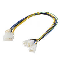 Akasa AK-CB002 PWM Splitter Smart Fan Cable поддерживает 3 PWM вентиляторов от одного материнской платы Header