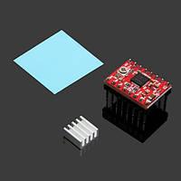 Geeetech® Stepper Driver A4988 с радиатором и наклейкой для 3D-принтера