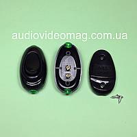 Выключатель ABS для бра клавишный, цвет черный