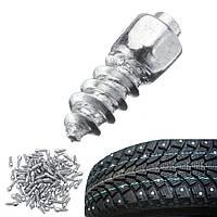 100 штук Universal Авто Tire Stud Болт Нескользящие металлические снежные ледяные шипы Racing Track