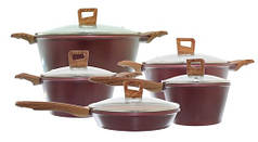Набор посуды 10 предметов EDENBERG EB 9188